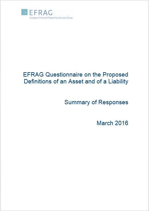 EFRAG Questionnaire on the Poposed Definitions of an Asset and of a LIbaility - Summary of Responses.JPG